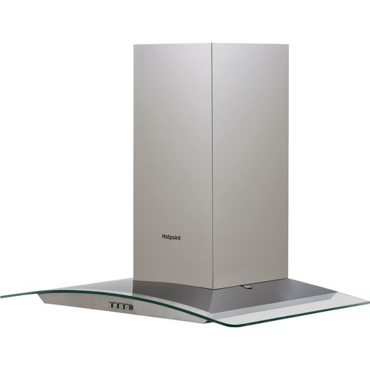 Hotpoint PHGC7.4FLMX 70 cm Chimney Cooker Hood - Stainless Steel - D Rated