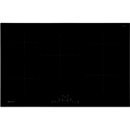 NEFF N70 T48FD23X2 80cm Induction Hob - Black