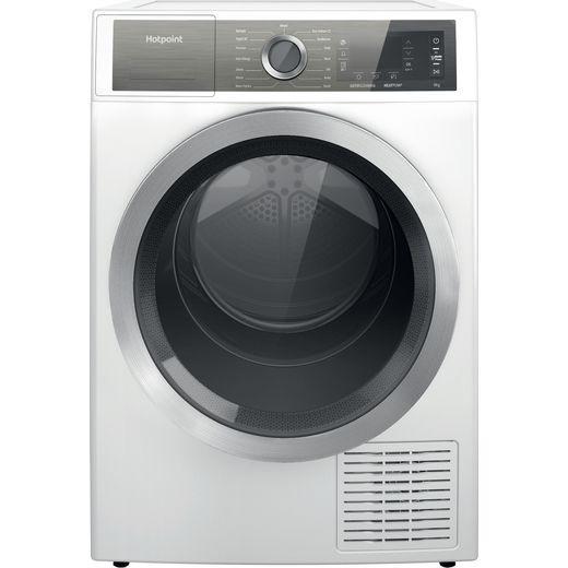 Hotpoint H8D93WBUK Heat Pump Tumble Dryer - White - A++ Rated