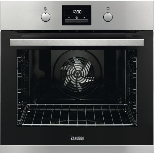 Zanussi ZOP37982XK Built In Electric Single Oven - Stainless Steel - A+ Rated