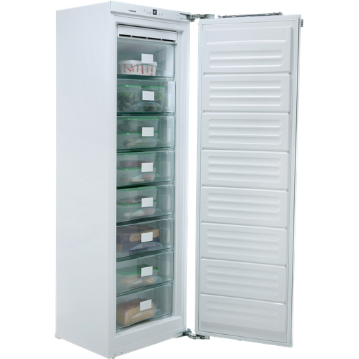 Liebherr SIGN3524 Integrated Frost Free Upright Freezer with Fixed Door Fixing Kit - F Rated