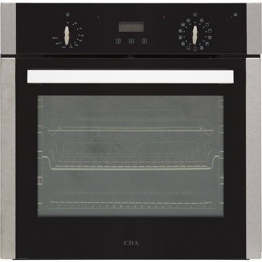 CDA SC360SS Built In Electric Single Oven - Stainless Steel - A Rated