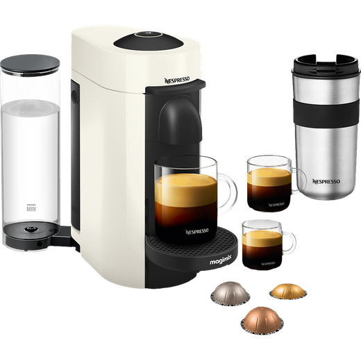Nespresso by Magimix Vertuo Plus Limited Edition 11398 - White