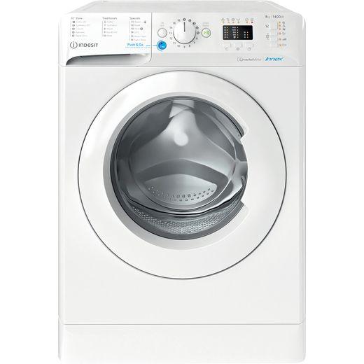 Indesit Innex BWA81485XWUKN 8Kg Washing Machine with 1400 rpm - White - B Rated
