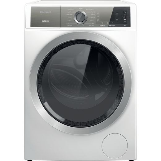 Hotpoint H8W946WBUK 9Kg Washing Machine with 1400 rpm - White - A Rated