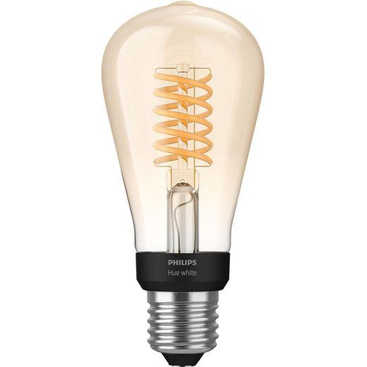 Philips Hue Filament ST64 Smart Bulb E27 - A+ Rated
