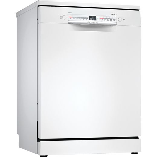 Bosch Serie 2 SMS2HKW66G Wifi Connected Standard Dishwasher - White - D Rated
