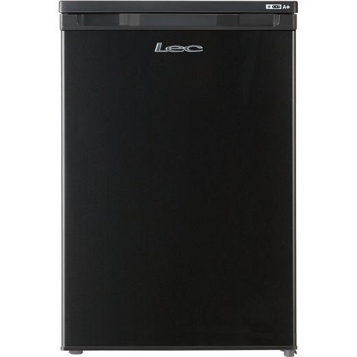 Lec U5511B.1 Under Counter Freezer - Black - F Rated