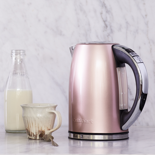 Cuisinart Style Collection CPK17PIU Kettle with Temperature Selector - Rose Tint