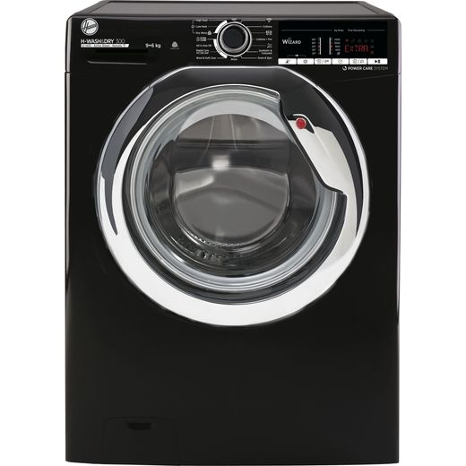 Hoover H-WASH 300 H3DS4965TACBE Wifi Connected 9Kg / 6Kg Washer Dryer with 1400 rpm - Black - E Rated