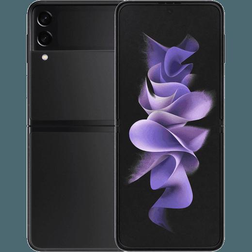 Samsung Galaxy Z Flip3 5G 128GB Flip Phone in Phantom Black