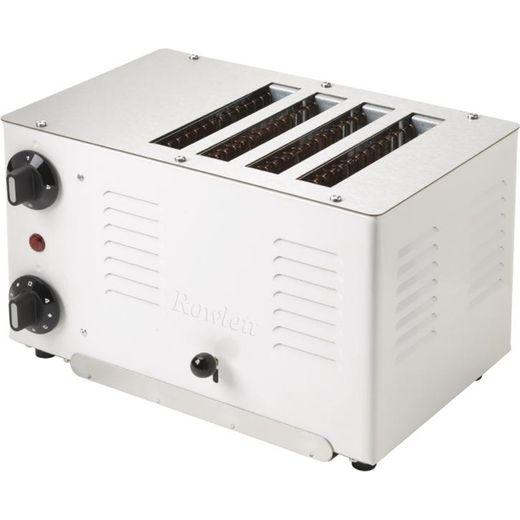 Rowlett Regent DL277 4 Slice Commercial Toaster - White