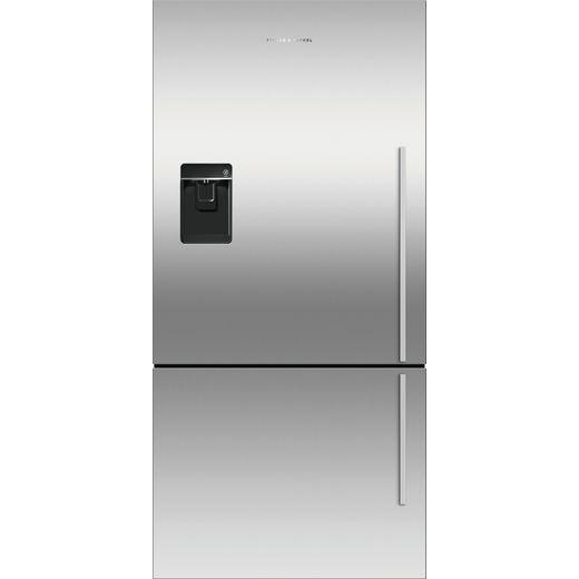 Fisher & Paykel RF522BLXFDU5 Frost Free Fridge Freezer - Silver - F Rated