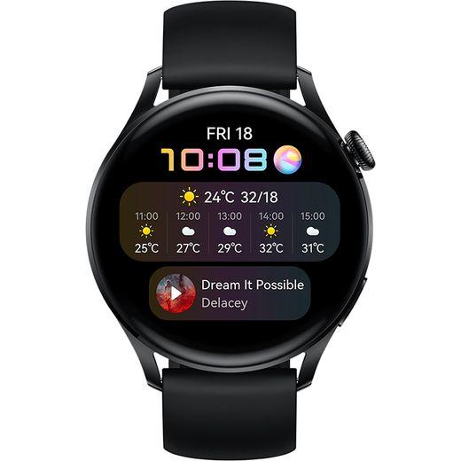 HUAWEI Watch 3 4G Smart Watch - Black
