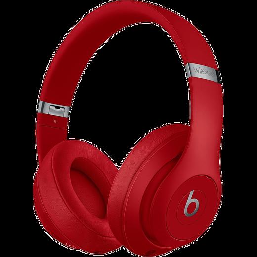 Beats Studio3 Over-Ear Wireless Bluetooth Headphones - Red