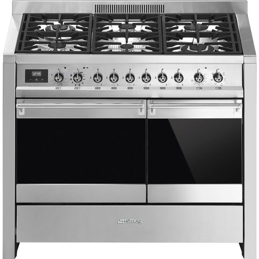 Smeg Opera A2PY-81 Dual Fuel Range Cooker - Stainless Steel - A/A Rated