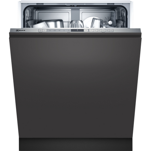 NEFF N30 S153ITX02G Wifi Connected Fully Integrated Standard Dishwasher - Stainless Steel Control Panel - E Rated