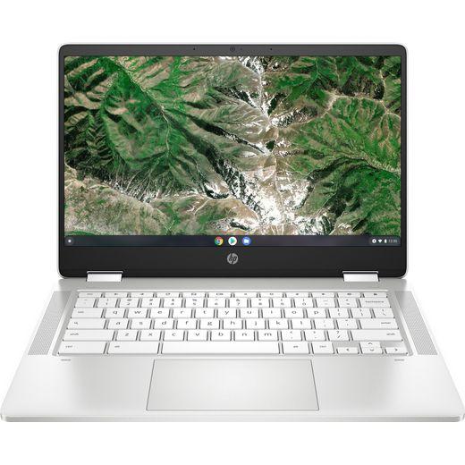 "HP X360 14a-ca0008na 14"" Chromebook Laptop - White"