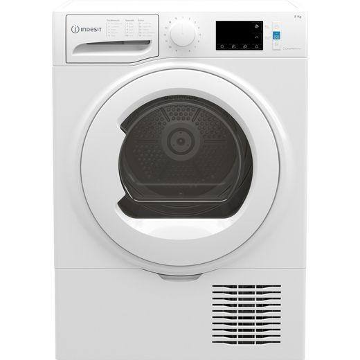 Indesit I3D81WUK 8Kg Condenser Tumble Dryer - White - B Rated