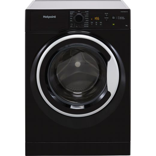 Hotpoint NSWM963CBSUKN 9Kg Washing Machine with 1600 rpm - Black - D Rated