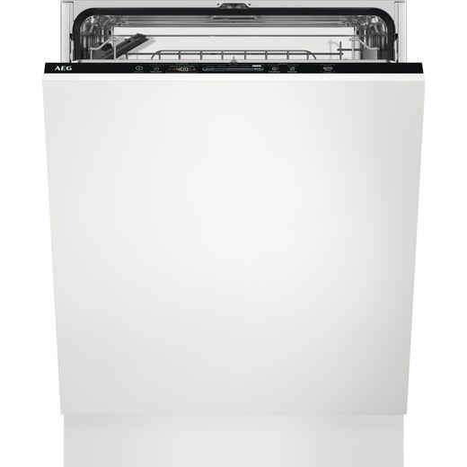 AEG FSS53637Z Standard Dishwasher - White - D Rated