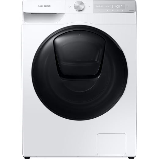 Samsung Series 8 QuickDrive™ AddWash™ WW90T854DBH Wifi Connected 9Kg Washing Machine with 1400 rpm - White - A Rated
