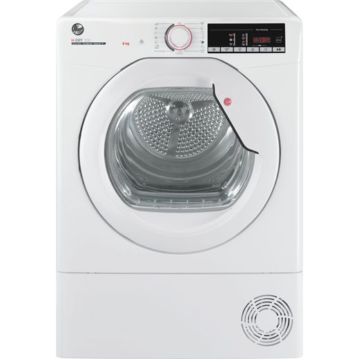 Hoover HLEC8TG Wifi Connected 8Kg Condenser Tumble Dryer - White - B Rated
