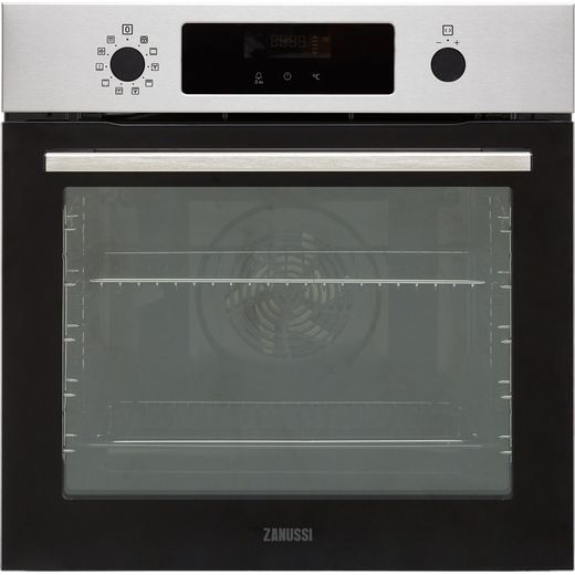 Zanussi ZOPNX6X2 Built In Electric Single Oven - Stainless Steel - A+ Rated