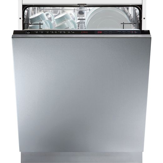 CDA WC371 Fully Integrated Standard Dishwasher - Black Control Panel with Fixed Door Fixing Kit - G Rated