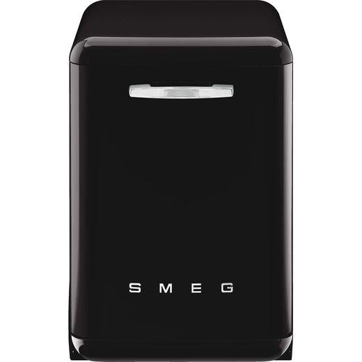 Smeg DFFABBL Standard Dishwasher - Black - B Rated
