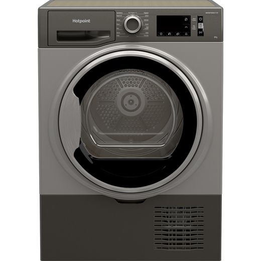 Hotpoint H3D81GSUK 8Kg Condenser Tumble Dryer - Graphite - B Rated