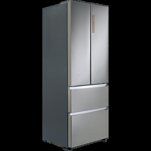 Haier HB15FPAA Fridge Freezer - Stainless Steel Effect