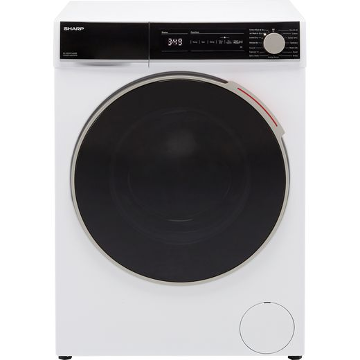 Sharp ES-NDH9144WD-EN 9Kg / 6Kg Washer Dryer with 1400 rpm - White - E Rated