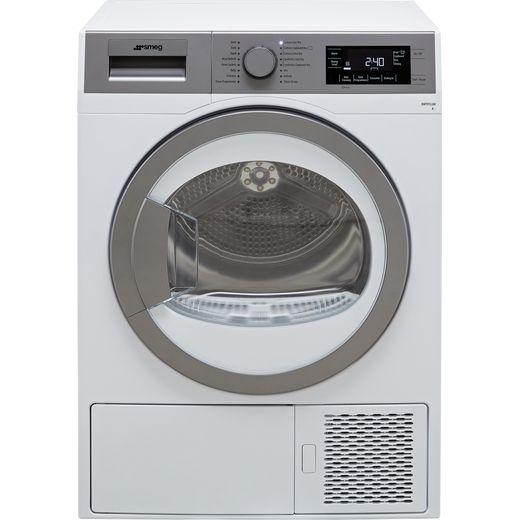 Smeg DHT91LUK 9Kg Heat Pump Tumble Dryer - White - A+ Rated