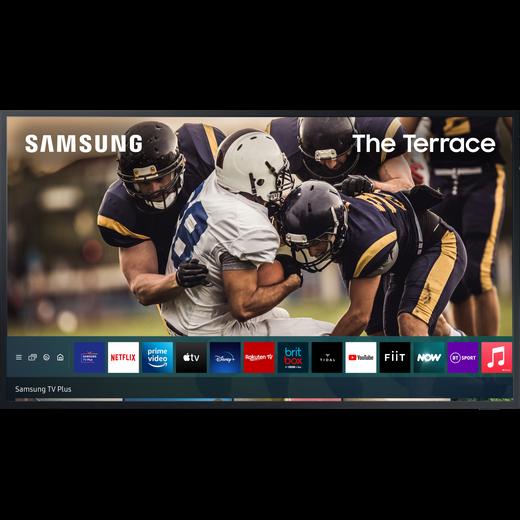 "Samsung QE55LST7TC 55"" The Terrace QLED 4K Ultra HD Smart Outdoor TV"