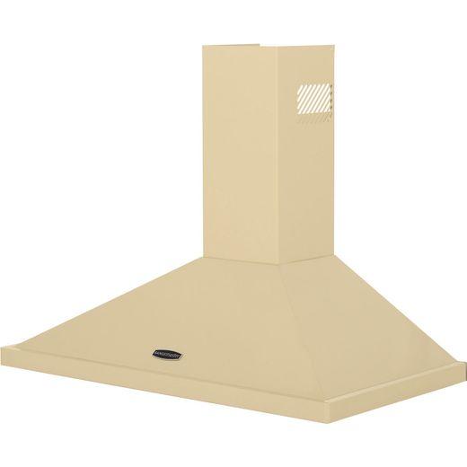 Rangemaster LEIHDC90CR/C 90 cm Chimney Cooker Hood - Cream / Chrome - B Rated