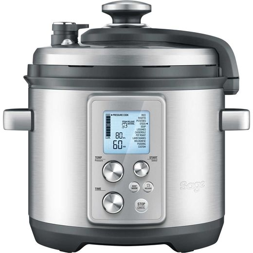 Sage The Fast Slow Pro BPR700BSS 6 Litre Pressure Cooker - Stainless Steel