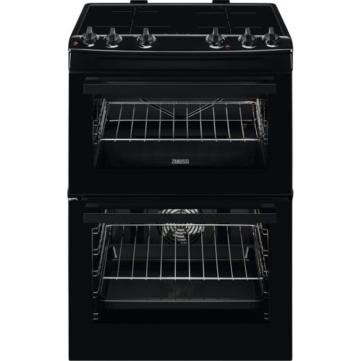 Zanussi ZCI66080BA Electric Cooker - Black - Needs 10700KW Electrical Connection