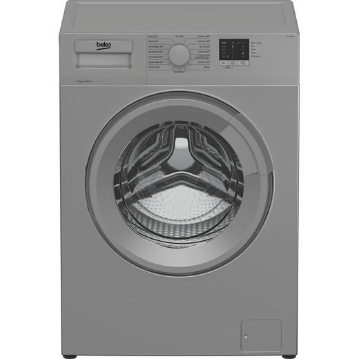 Beko WTL72051S 7Kg Washing Machine with 1200 rpm - Silver - D Rated