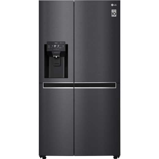 LG GSL760MCKV American Fridge Freezer - Matte Black