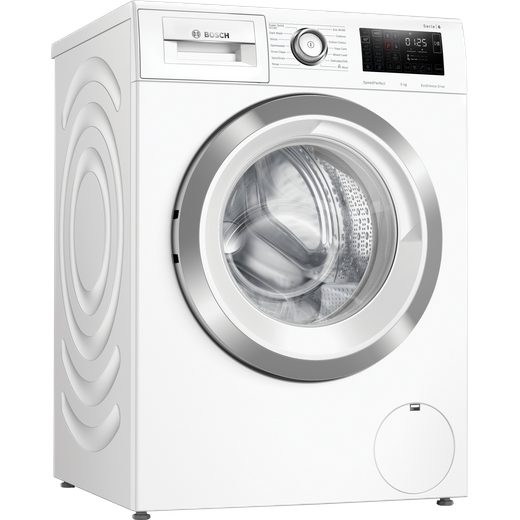 Bosch Serie 6 WAU28R90GB 9Kg Washing Machine with 1400 rpm - White - C Rated