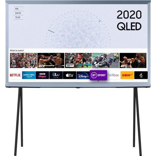 "Samsung Serif QE49LS01TB 49"" Smart HDR 4K Ultra HD QLED TV With 100% Colour Volume, Quantum Processor 4K"
