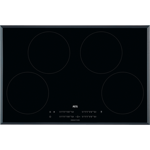 AEG IKB84401FB 78cm Induction Hob - Black