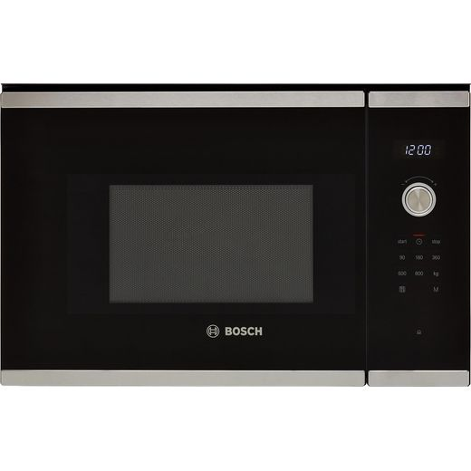 Bosch Serie 6 BFL524MS0B Built In Microwave - Stainless Steel