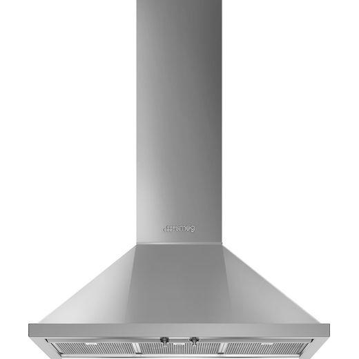 Smeg Portofino KPF9X 90 cm Chimney Cooker Hood - Stainless Steel - A+ Rated