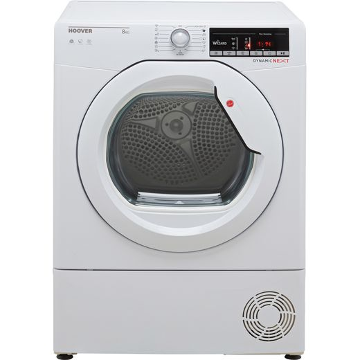 Hoover Dynamic Next DXOC8TG Wifi Connected 8Kg Condenser Tumble Dryer - White - B Rated