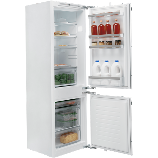 NEFF N50 KI7862FF0G Integrated 60/40 Frost Free Fridge Freezer with Fixed Door Fixing Kit - White - F Rated