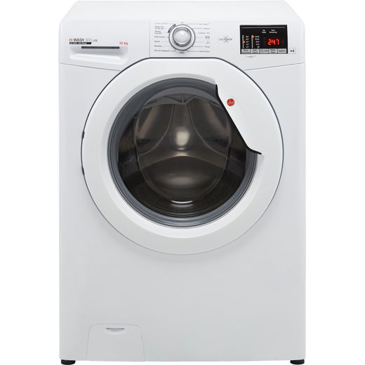 Hoover H-WASH 300 H3W4102DE 10Kg Washing Machine with 1400 rpm - White - E Rated