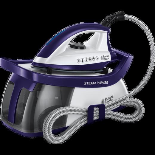 Russell Hobbs 24440 Pressurised Steam Generator Iron - Purple / White