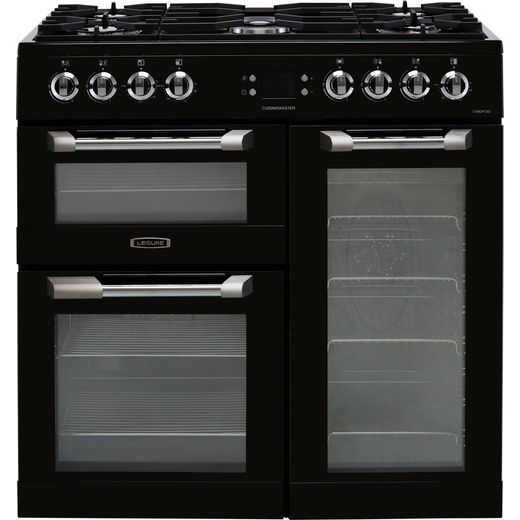 Leisure Cuisinemaster CS90F530K 90cm Dual Fuel Range Cooker - Black - A/A/A Rated